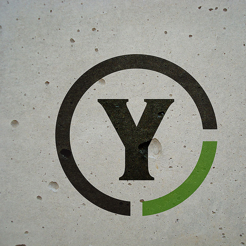 The Yards Logo On A Wall