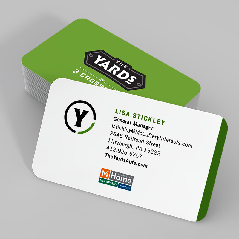 The Yards Business Cards